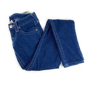 True Religion Skinny Jeans w/ Embellished Pockets